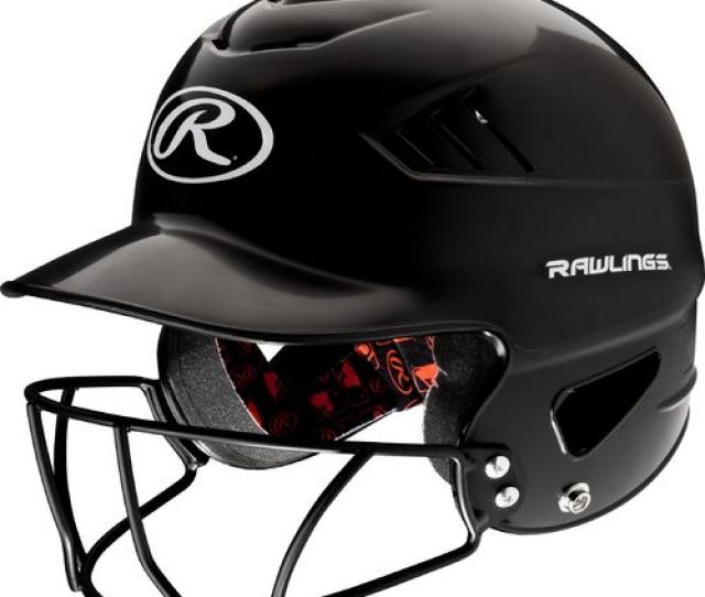 Rawlings Youth Coolflo Baseball Helmet With Face Guard
