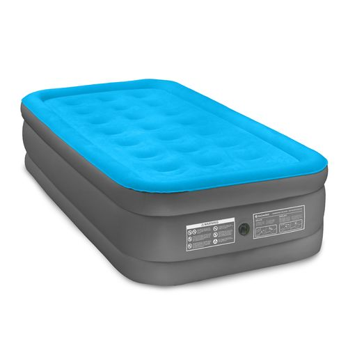 Air Comfort Camp Mate Raised Twin Size Mattress With Battery Ed Pump