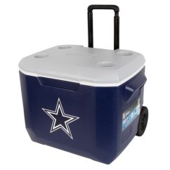 Academy Sports Patio Chairs Most Comfortable Chair Coleman® Dallas Cowboys 60 Qt. Performance Wheeled Cooler  