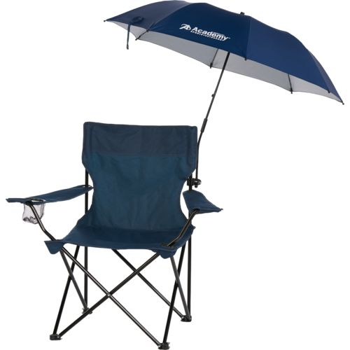 academy beach chairs adirondack wood sports + outdoors 3.4 ft clamp-on umbrella  