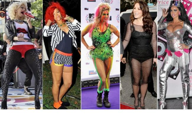 Topul celor mai urate outfituri ale vedetelor in 2010 FOTO
