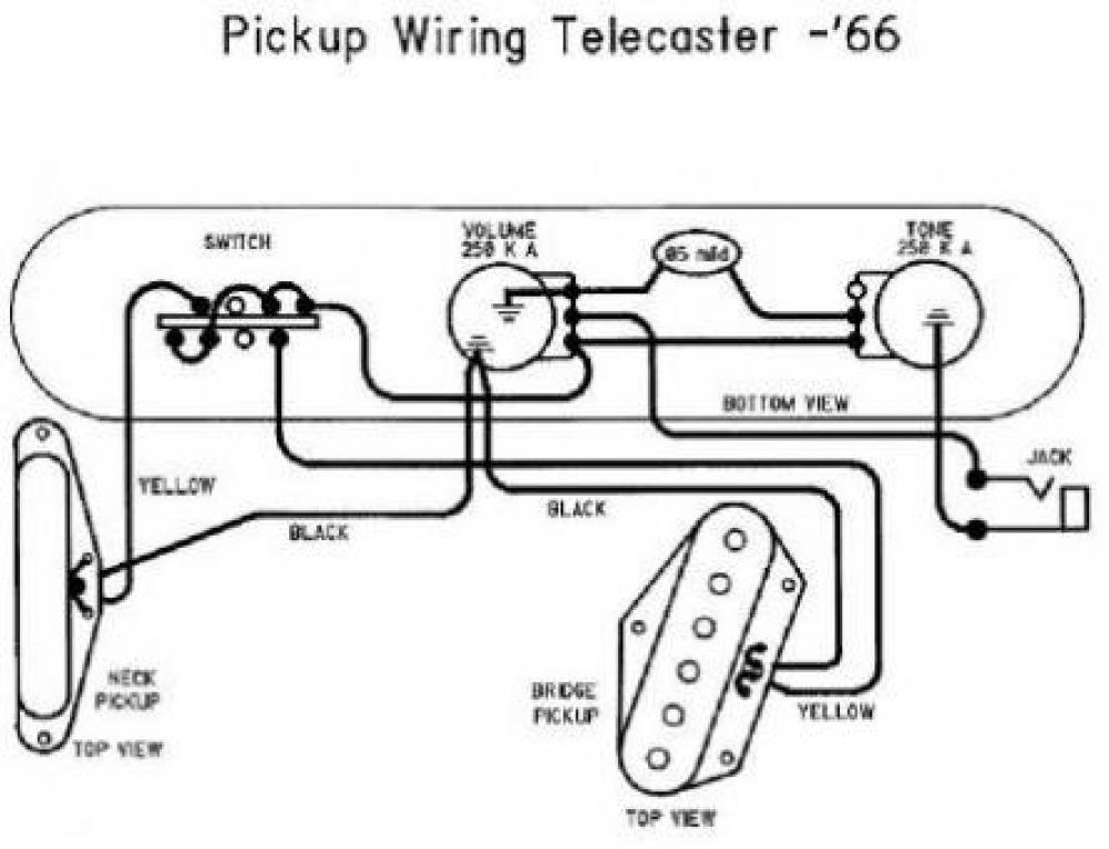 Accordo: Pickup Telecaster che suonano male assieme