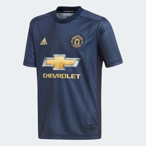 Manchester United Third Jersey Blue DP6017
