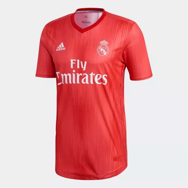 Real Madrid Authentic Third Jersey Red DP5441