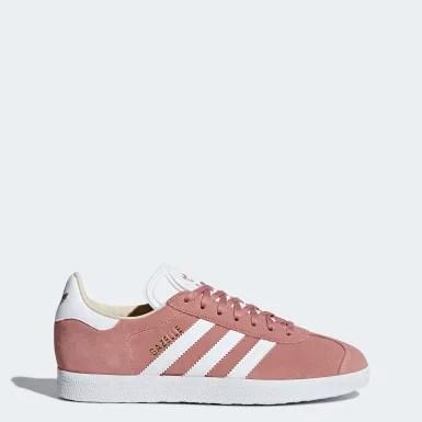 Adidas Gazelle Femme Gris Clair 3