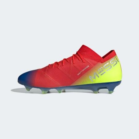 Messi botas azulgrana