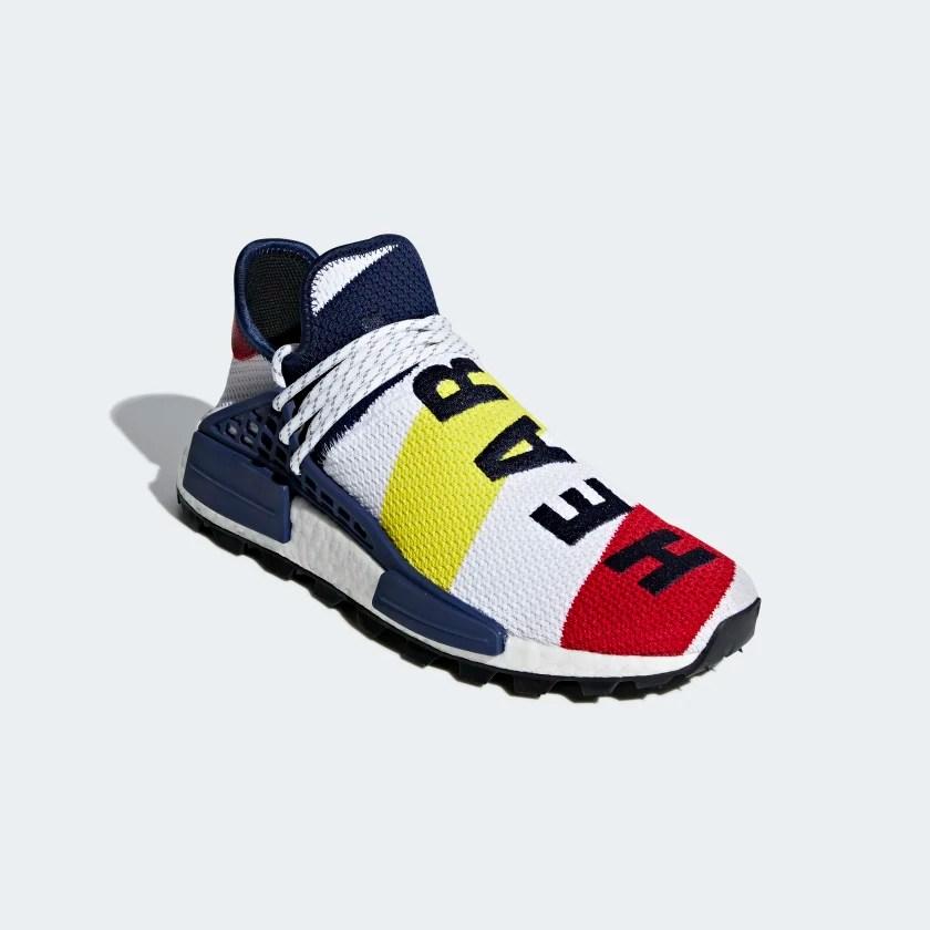 Pharrell Williams Bbc Hu Nmd Shoes