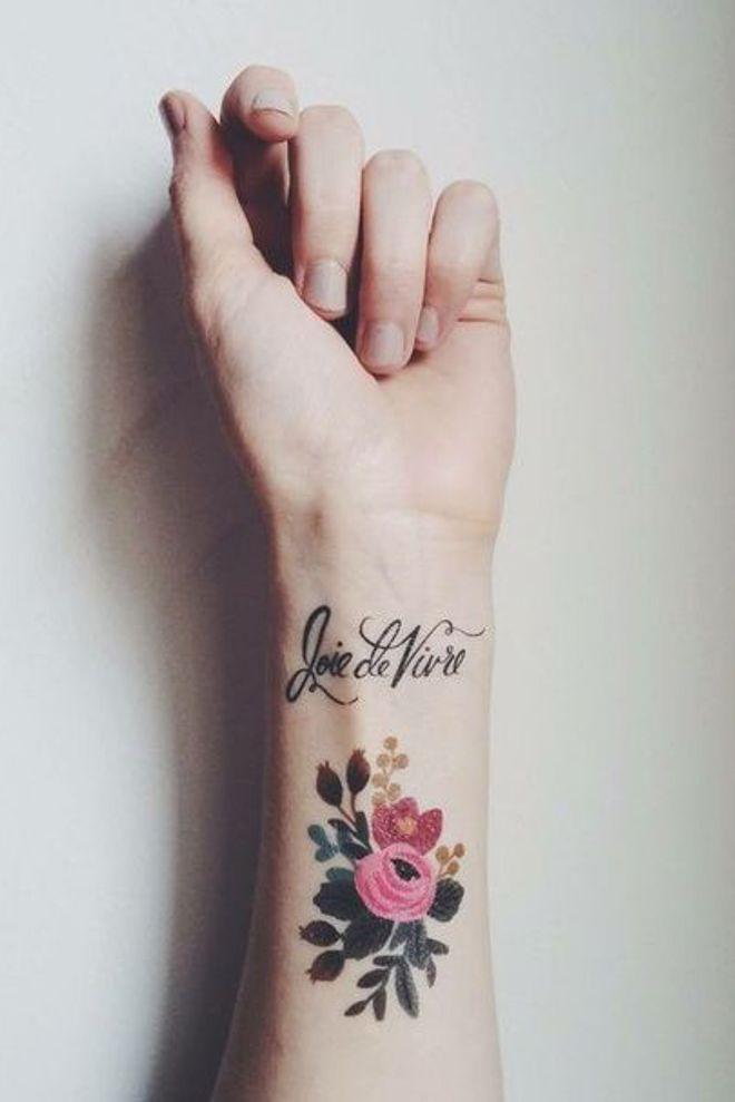 tatouage poignet les idees les plus originales