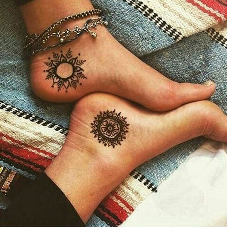Tatuajes Para Tobillo Foto Enfemenino