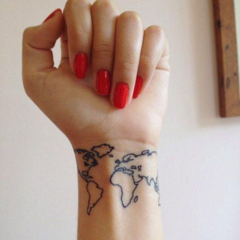 Tatuajes De Viajes Foto Enfemenino