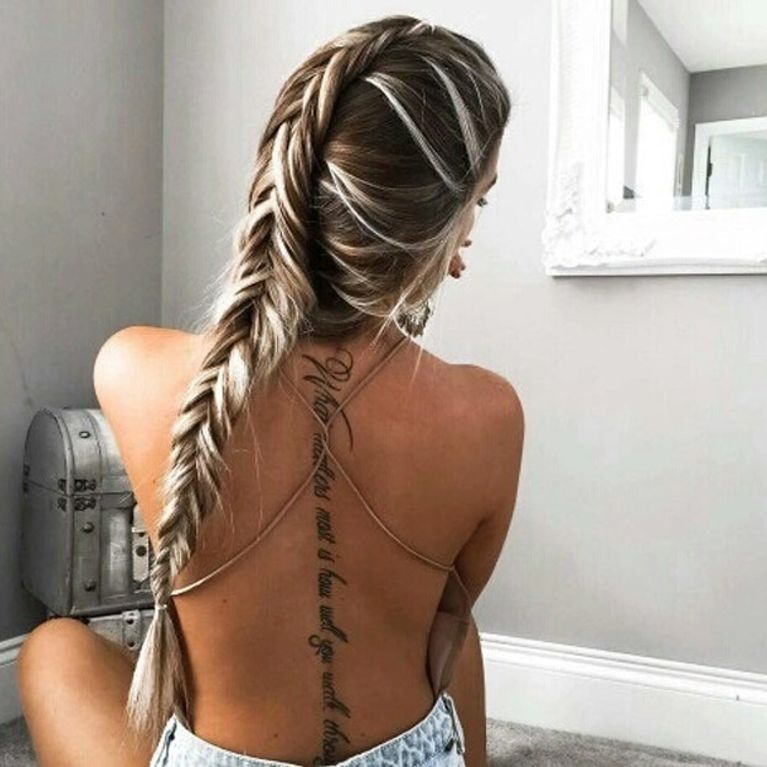 Frases Inspiradoras Para Tatuar En Tu Piel Foto Enfemenino