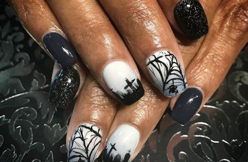 nail art halloween nos idees pour une