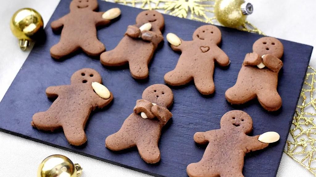 gingerbread christmas cookies biscuits en pain d epices de noel