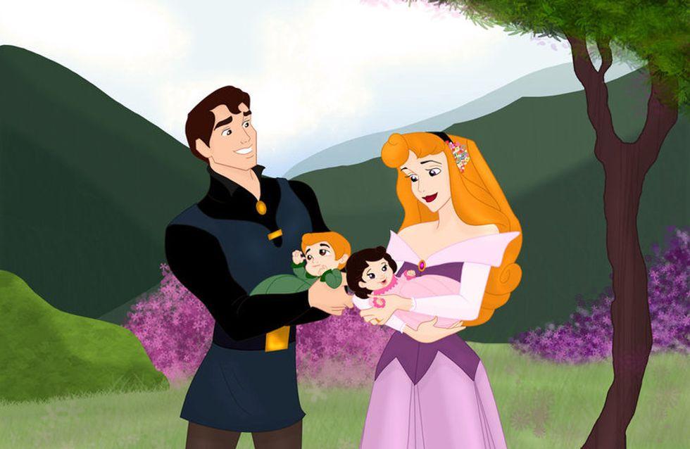 et si les princesses disney avaient eu