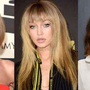 fringe hairstyles celebrity