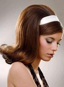 tendance coiffure sixties 70 styles