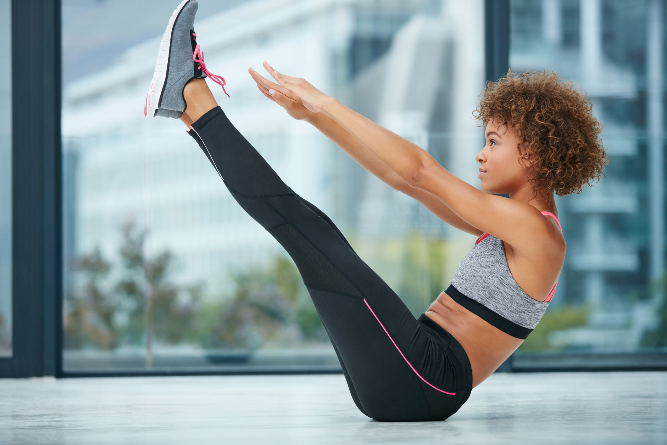 entrainement fitness exercices de gym