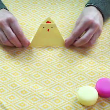 Lavoretti Di Pasqua Fai Da Te Tovaglioli E Origami Pasquali