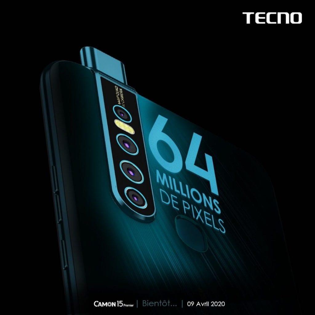 De quoi parle-t-on quand on parle de 64 mégapixels pour la série TECNO CAMON 15 ?