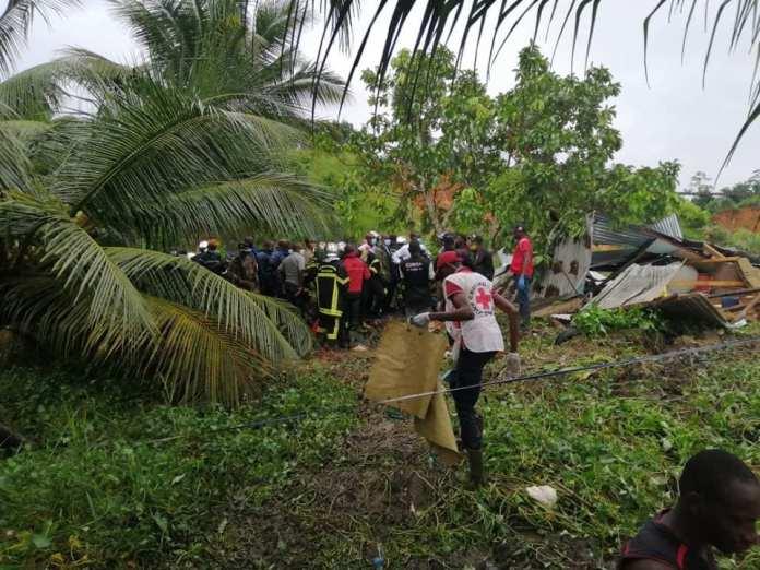 Côte d'Ivoire : 10 morts et plusieurs blessés dans des effondrements à Anyama, suite à de fortes pluies