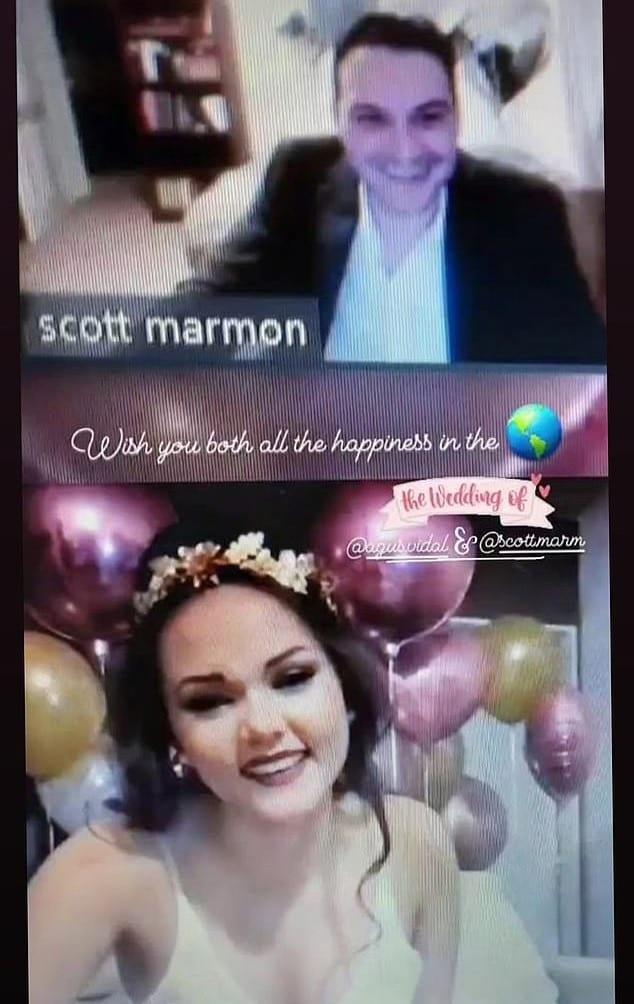 Un couple devient le premier au monde à se marier légalement via Zoom