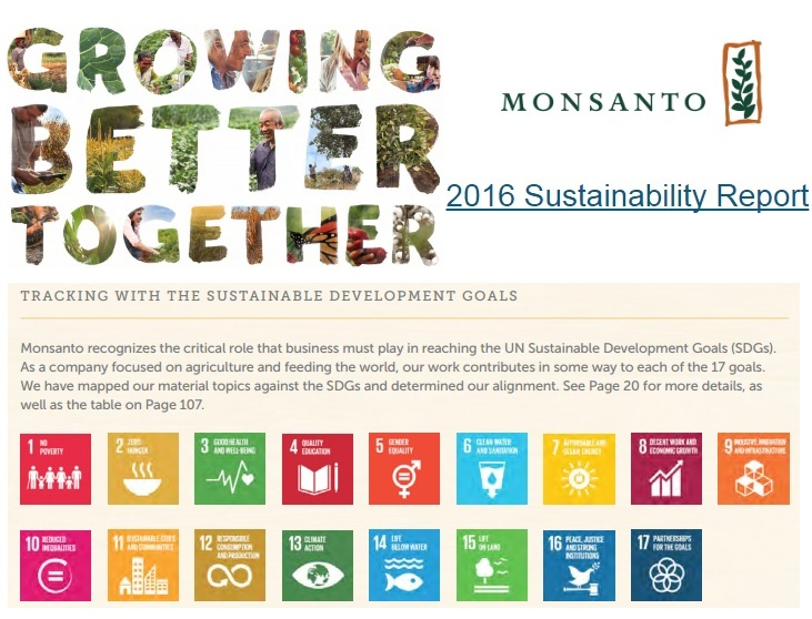 Image result for monsanto sustainability