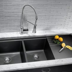 Blanco Kitchen Sink Remodel Small 440410 48 Inch Undermount Double Bowl Granite With 9 1 2 Precis View