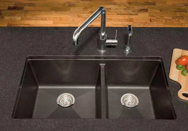 Blanco 441129 33 Inch Undermount Double Bowl Granite Sink