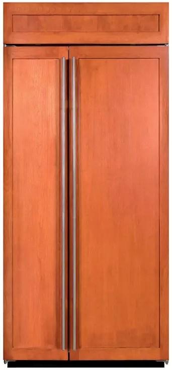 SubZero BI36SO 36 Inch Builtin SidebySide Refrigerator