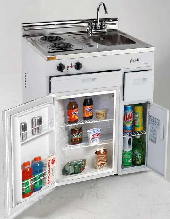 Avanti CK3016 30 Inch Compact Kitchen with 22 cu ft All