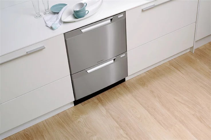 fisher paykel dishwasher parts diagram trailer 4 way wiring dd24dctx6v2 semi integrated double drawer dishdrawer series kitchen view
