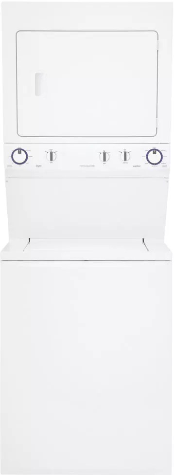 Frigidaire FFLE1011MW 27 Inch Electric Laundry Center with