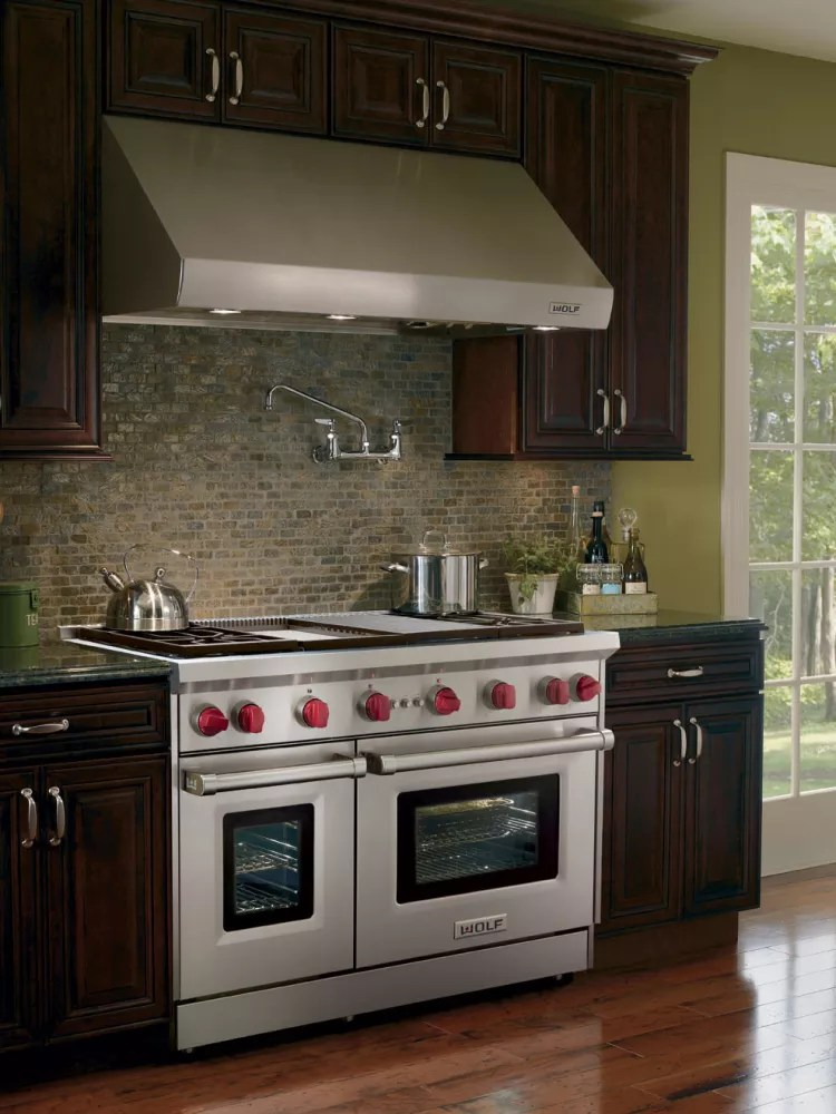 Wolf GR484CG 48 Inch ProStyle Gas Range with 4 Dual