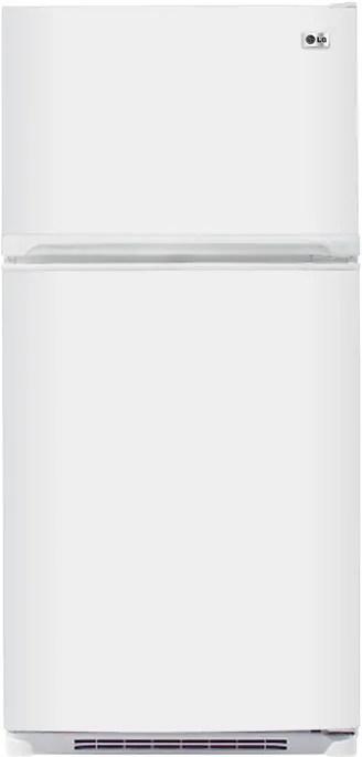 LG LTC22350WH 22.1 cu. ft. Top-Freezer Refrigerator with 4