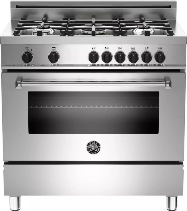 Bertazzoni Mas365dfmxe 36 Pro-style Dual Fuel Range