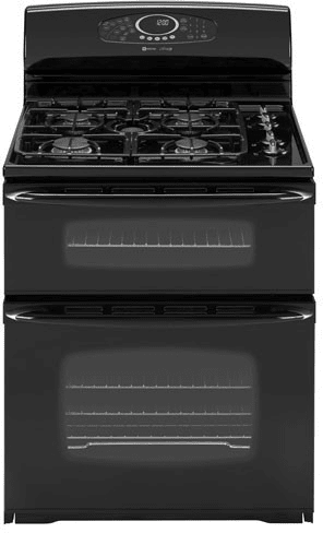 maytag kitchen ranges peerless faucet parts mgr6875adb 30 inch freestanding gas double oven ...