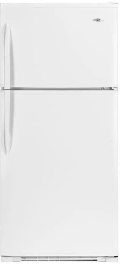 21 Cu Ft Top Freezer Refrigerator W Freshlock Crispers