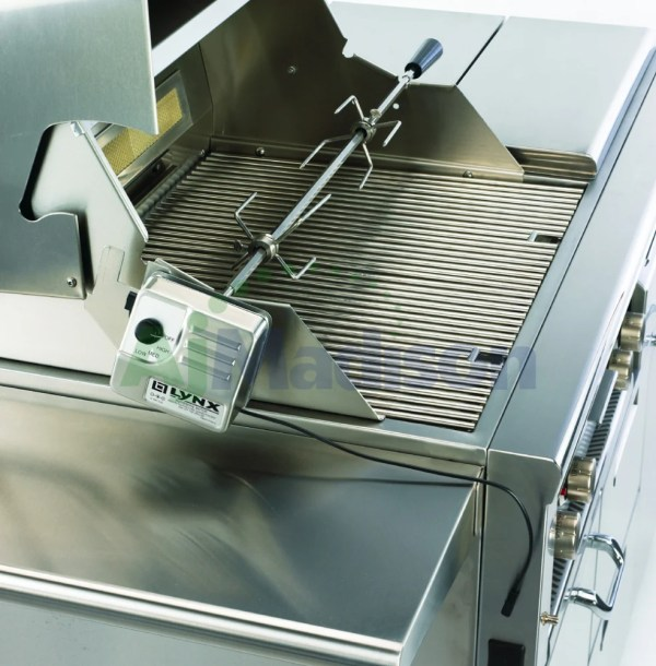 Lynx L30frng 30 Freestanding Gas Grill With Rotisserie & 600 Sq. In. Grilling Area Natural