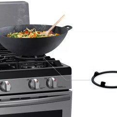 Kitchen Appliance Sale How To Make Cabinet Doors Samsung Nx58h5650ws 30 Inch Freestanding Gas Range With 5 ...