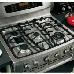 Kitchen Appliance Sale Farmhouse Table Sets Ge Pgb980setss 30 Inch Freestanding Gas Range With 5 ...