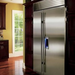 Kitchen Hoods For Sale Grommet Curtains Sub-zero Bi48sdo 48 Inch Built-in Side-by-side ...