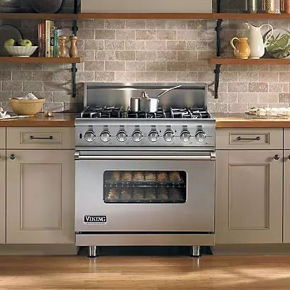 Viking VDSC5366BSS 36 Inch ProStyle DualFuel Range with 56 cu ft ProFlow Convection Oven 6