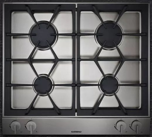 Gaggenau VG264214CA 24 Inch Gas Modular Cooktop with 4