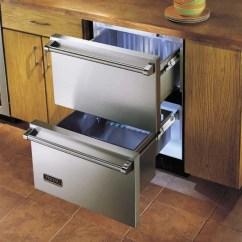 Zephyr Kitchen Best Floor Cleaner Viking Durd144dss 24 Inch Freestanding Double Drawer ...
