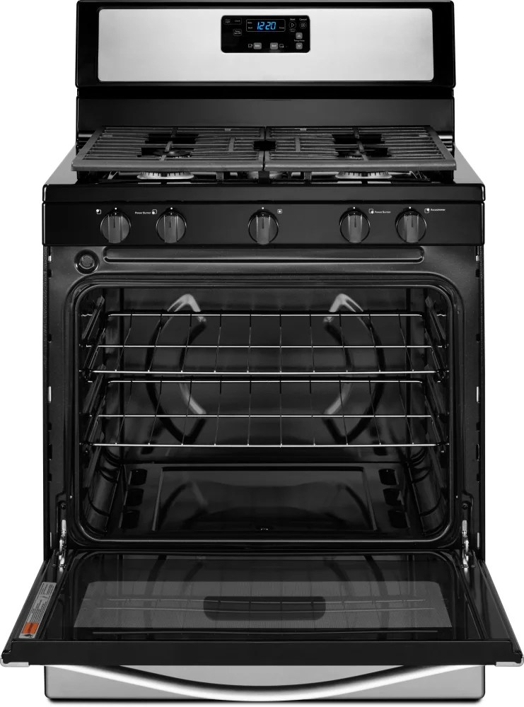 Whirlpool WFG505M0BS 30 Inch Freestanding Gas Range with