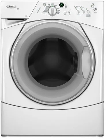Whirlpool WFW8400TW 27 Inch FrontLoad Washer with 37 cu ft Capacity 10 Wash Cycles 4