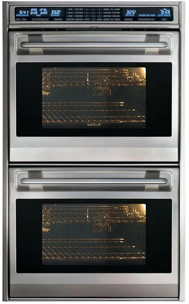 Wolf DO30FS 30 Inch Double Electric Wall Oven with 45 cu