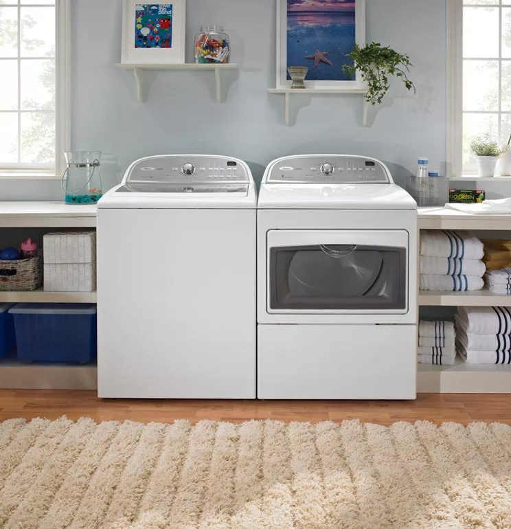 Whirlpool WTW5700XW 27 Inch TopLoad Washer with 36 cu ft Capacity 11 Wash Cycles 5