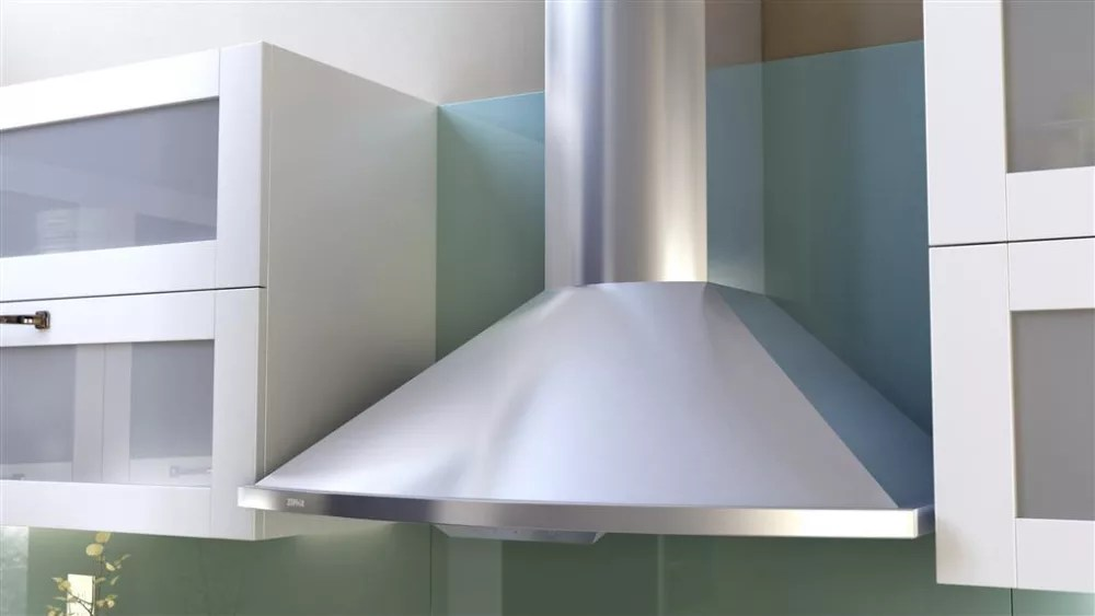 zephyr kitchen hood cabinets houston area zsae30bs290 savona wall mount chimney with 290 cfm europa collection stainless steel