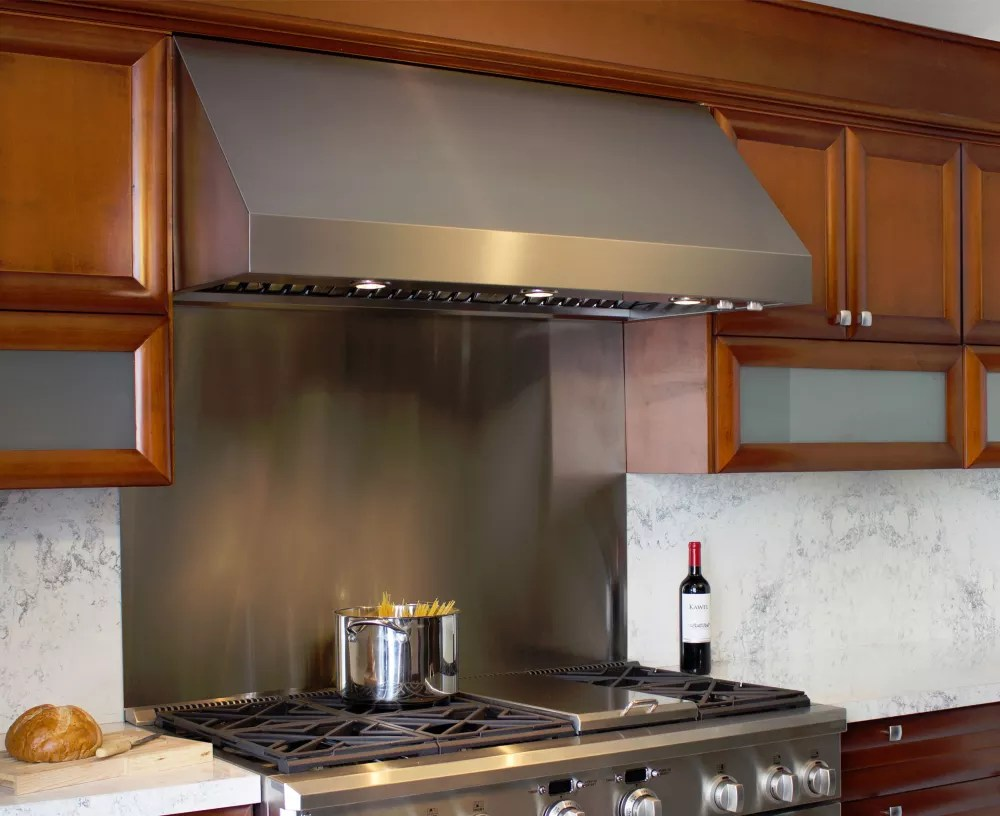 Elica ECL142S2 42 Inch Wall Mount Canopy Hood with 1200